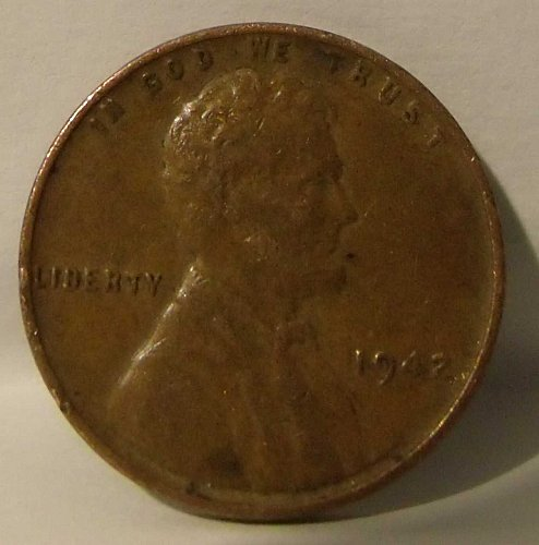 1942 P Lincoln Wheat Cent Penny