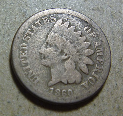 1860 Indian Head Small Cent (1 coin)