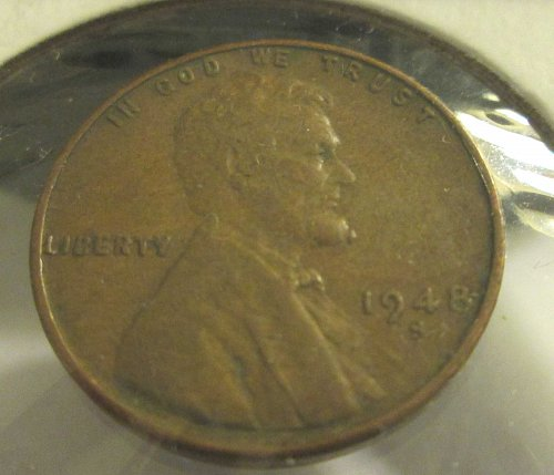 1947-S &1948-S Lincoln Wheat Pennies