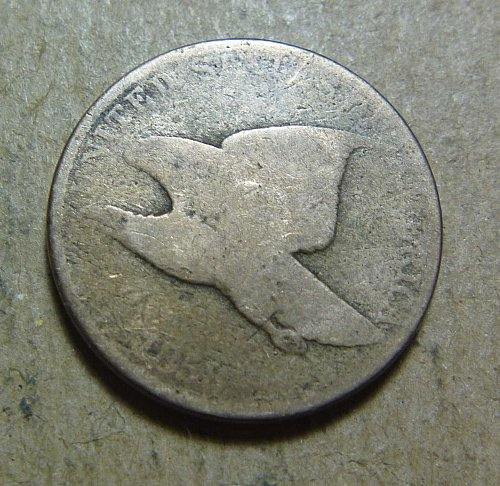 1858 Flying Eagle Small Cent possibly large letters (#01)
