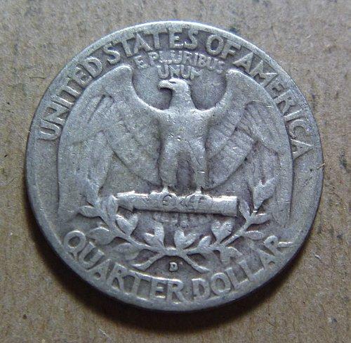 1953-D Washington Quarters (2 Coins)