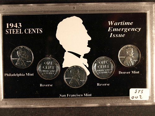 US 1943 Steel Cents