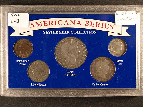 5 Coin Yesteryear Collection