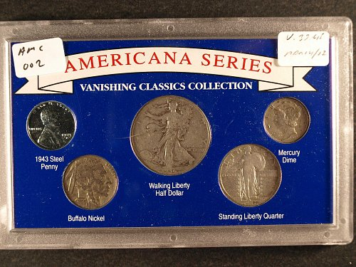 Five Vanishing Classic Coins