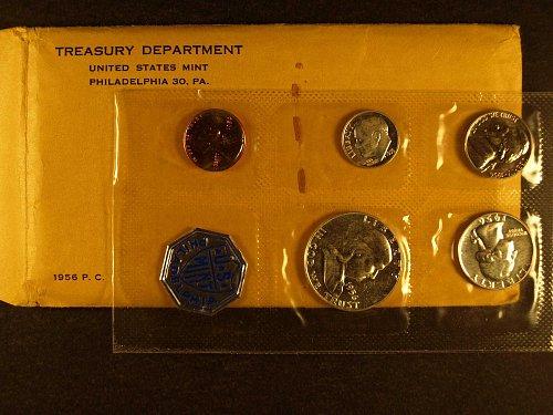 1956 US Mint Proof Set.