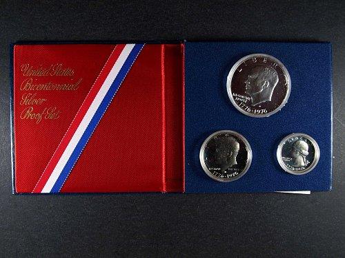 1976 Bi Centennial Silver Proof Set