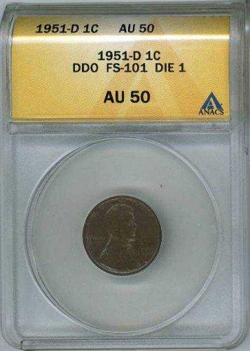 1951-D 1c DDO-001/FS-101