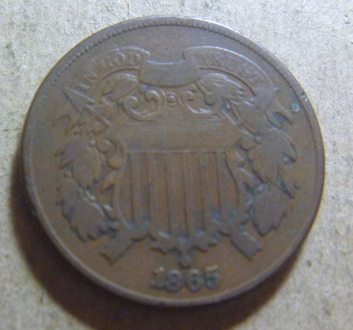 1865 Two Cent (#01)