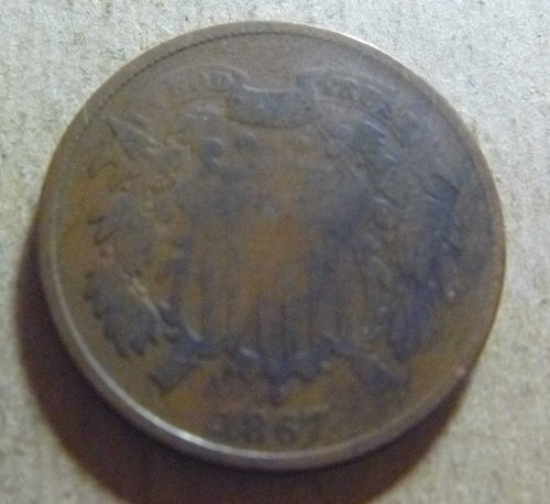 1867 Two Cent (#01)