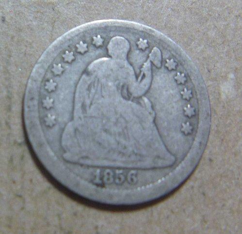 1856 Liberty Seated Half Dime