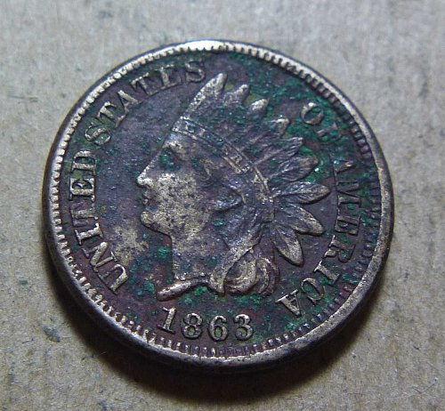 1863 Indian Head Small Cent (#02)