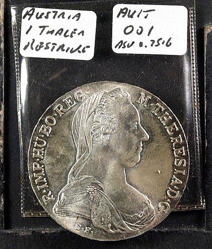 Austrian 1780 Thaler - Restrike
