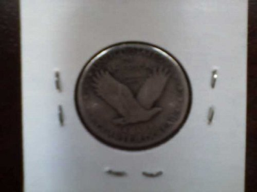 1925 Liberty quarter - silver