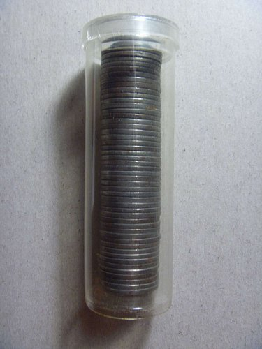 Roll of 1943 Steel Lincoln Cents (50 coins)