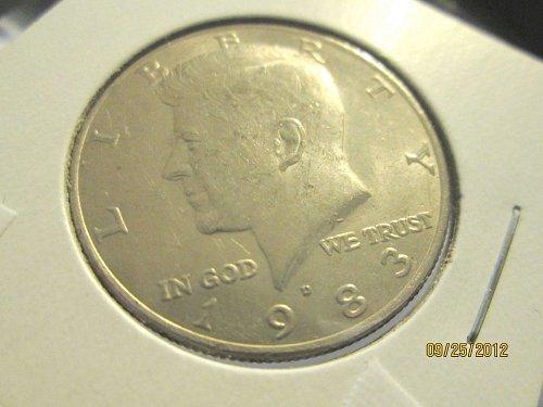 1983-D John F Kennedy Half Dollar