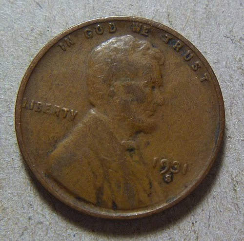 1931-S Lincoln Wheat Cent (#01)