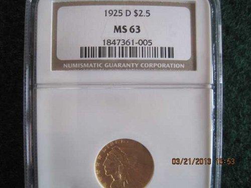 1925D Indian $2 1/2