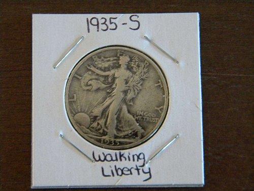 50 cent walking liberty