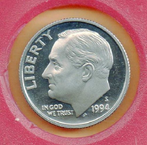 1994S Proof Roosevelt Dime