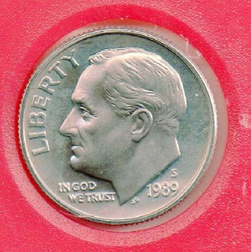 1989S Proof Roosevelt Dime