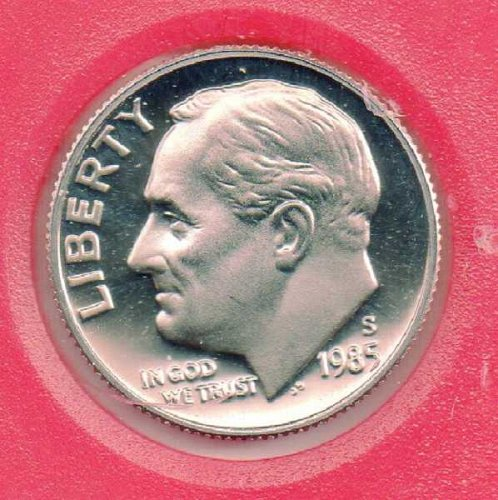 1985S Proof Roosevelt Dime