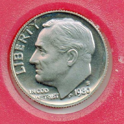 1980S Proof Roosevelt Dime