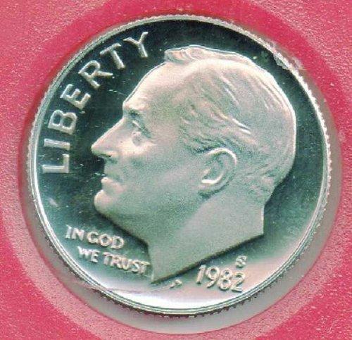 1982S Proof Roosevelt Dime