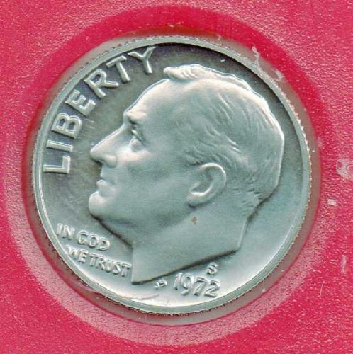 1972 s Proof Roosevelt Dime (1)