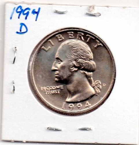 1994d BU Washington Quarter