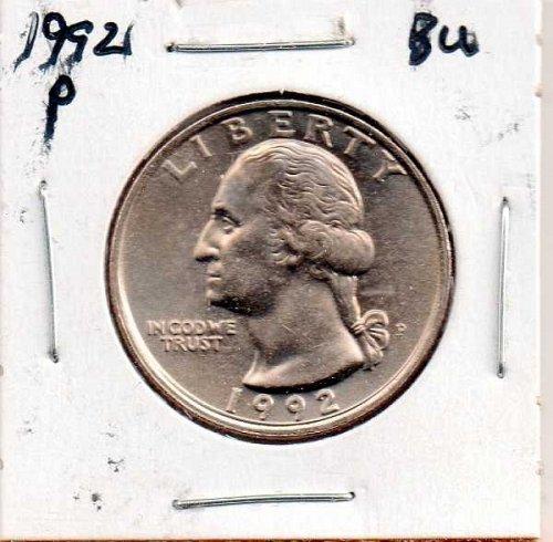 1992p BU Washington Quarter