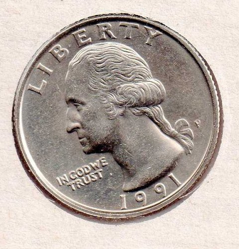 1991p BU Washington Quarter