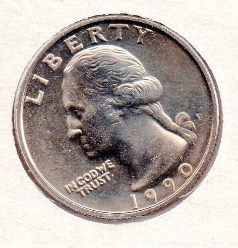 1990p BU Washington Quarter