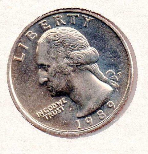 1989p BU Washington Quarter