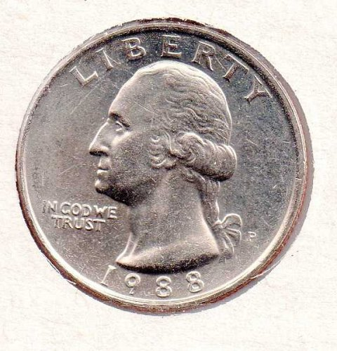 1988p BU Washington Quarter