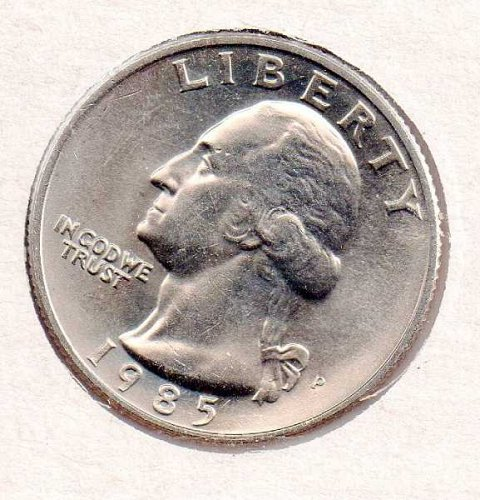 1985p BU Washington Quarter