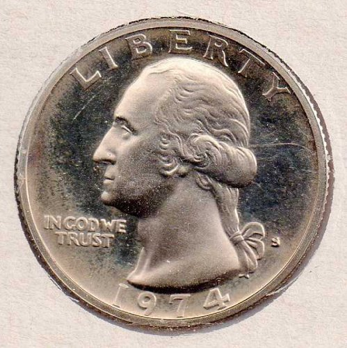 1974 s Proof Washington Quarter - Proof - #1