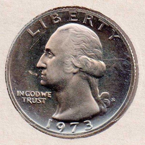 1973 s Proof Washington Quarter - Proof - #1