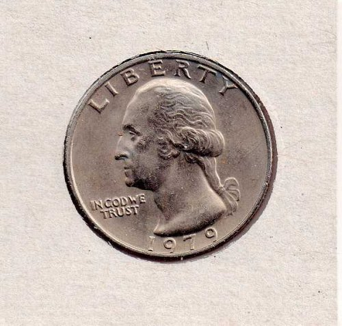 1979P BU Washington Quarter