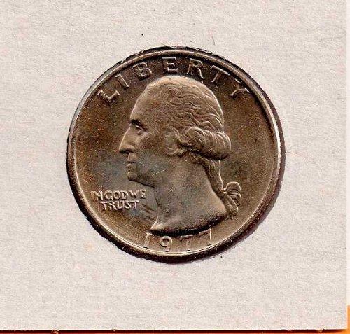 1977p BU Washington Quarter
