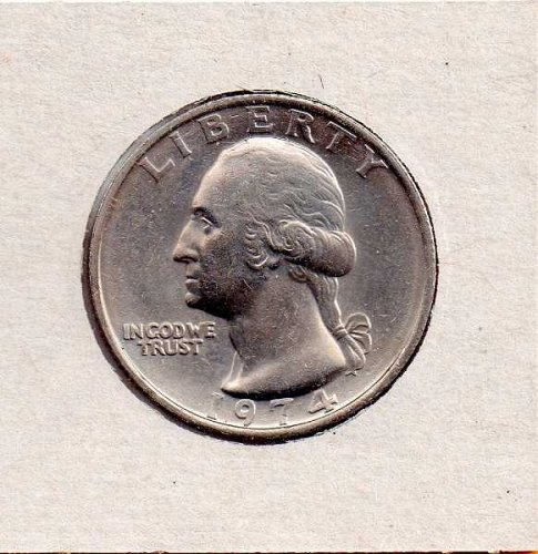 1974 BU Washington Quarter