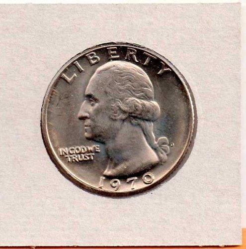 1970d BU Washington Quarter