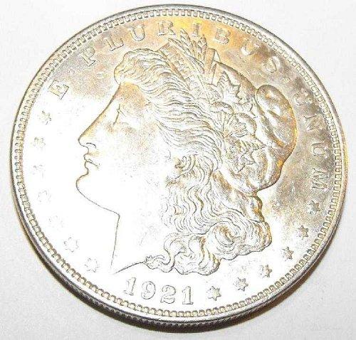 1921p ms61 Morgan Silver Dollar