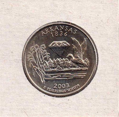 2003d Arkansas Washington Quarter