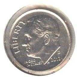 2012-D Uncirculated Dime!!