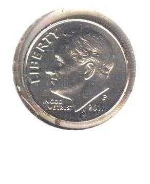 2011-P Uncirculated Dime!!