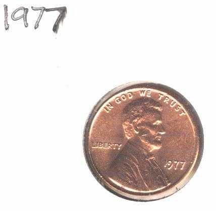 1977 Penny Unc!!