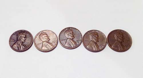 1960 D Lincoln Memorial Cent