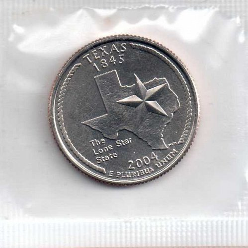 2004p BU Texas Washington Quarter