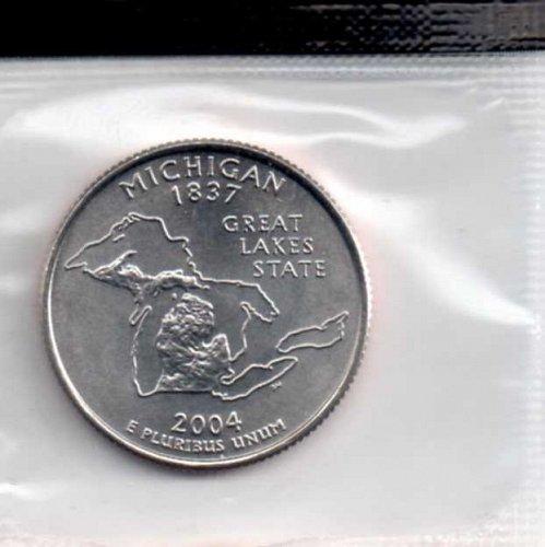 2004d BU Michigan Washington Quarter