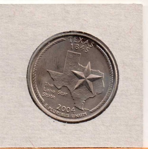 2004d BU Texas Washington Quarter